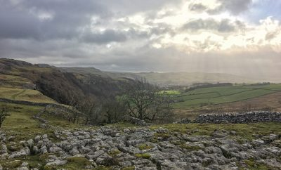 What a view! Giggleswick Scar