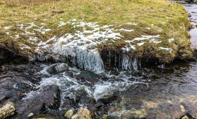 Crystal clear Fell Beck in Clapham