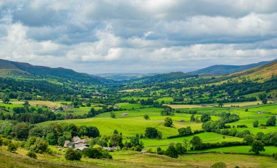 Dentdale from one of the drovers routes featured in Secret Yorkshire Dales