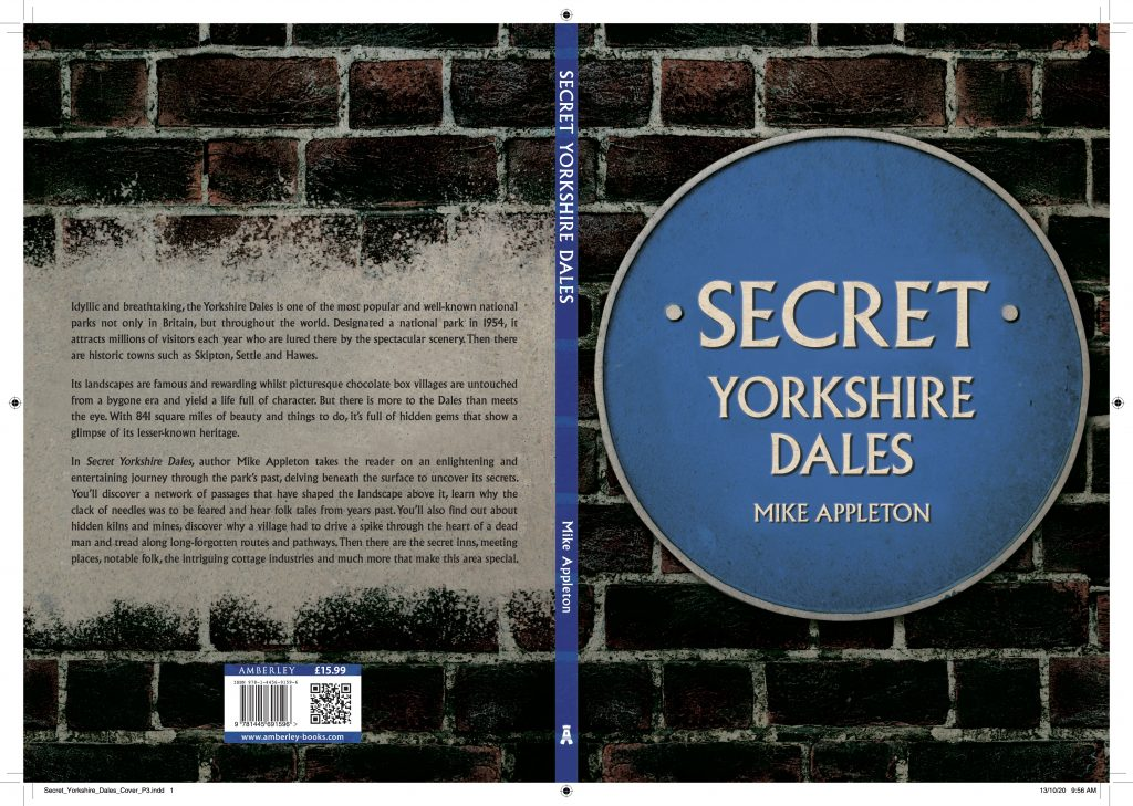 The cover of Secret Yorkshire Dales.